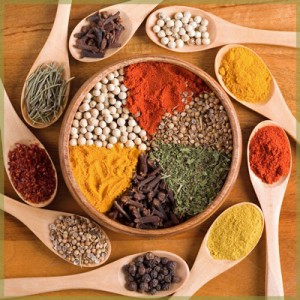 Image - Ayurvedic Consultation San Francisco Berkeley Herbs, Diet, Lifestyle Plan - Herbal spice bowl