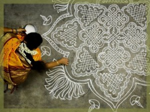 What is Ayurveda? San Francisco Berkeley consultation - chalk mandala