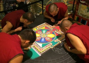 Image What is Mindfulness Monks San Francisco & Berkeley sand Mandala