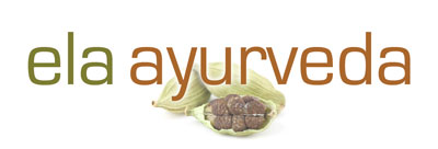 Logo Ela Ayurveda San Francisco Bay Area Ayurvedic Medicine Diet Yoga Mindfulness Birth Support